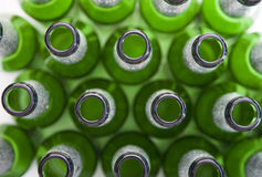 Alcoholic Drinks - Empty Beer Bottles Royalty Free Stock Photo