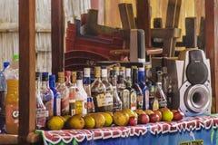 Alcoholic Drinks Montanita Ecuador Stock Photography