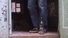 Alcoholic drinks vodka stock video