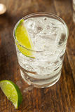 Alcoholic Gin and Tonic Royalty Free Stock Photography