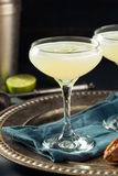 Alcoholic Lime and Gin Gimlet Stock Photography