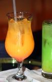 Alcoholic Orange Drink Stock Image
