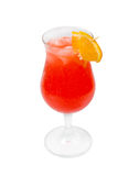 Alcoholic red cocktails Royalty Free Stock Photos