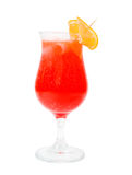 Alcoholic red cocktails, isolated Stock Image