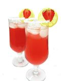 Alcoholic red wine cocktail drinks Stock Photography