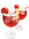 Alcoholic red wine cocktail drinks Royalty Free Stock Photo