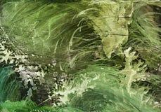 Alcoholinkt, acryl, waterverf kleurrijke abstracte achtergrond royalty-vrije illustratie