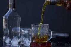 Alcoholische drank Royalty-vrije Stock Afbeeldingen