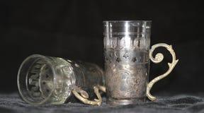 Alcoholische drank Finnen op witte grond royalty-vrije stock afbeeldingen