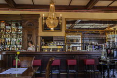 Alcoholische drankbar Royalty-vrije Stock Afbeelding