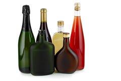 Alcoholische dranken. stock foto