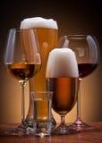 Alcoholische dranken Royalty-vrije Stock Foto's
