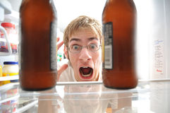 Alcoholism Royalty Free Stock Photo