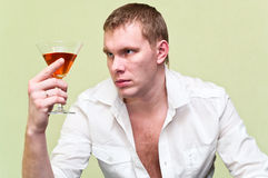 Alcoholism Stock Image
