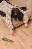 Alcoholism Stock Photo