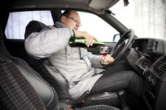 Alcoholism. Stock Photography