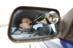 Alcoholism. Royalty Free Stock Image
