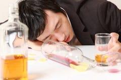 alcoholism Imagem de Stock Royalty Free