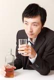 alcoholism Fotografia de Stock Royalty Free