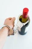 Alcoholism concept. Stock Image