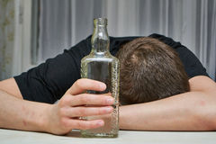 Alcoholism Stock Photography