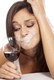 Alcoholism royalty free stock photos