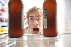 Alcoholisme Royalty-vrije Stock Foto
