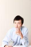 alcoholisme Stock Foto's