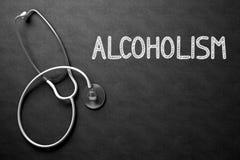 Alcoholisme op Bord 3D Illustratie Royalty-vrije Stock Foto