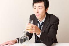 alcoholisms 免版税库存照片
