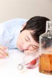 alcoholisms 免版税库存图片