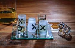 Alcoholwinsten Stock Foto