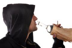 Alcolismo Fotografia Stock Libera da Diritti