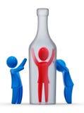 Alcolismo Immagini Stock Libere da Diritti