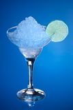 Alcool avec de la glace Photo stock