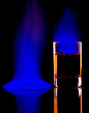 Alcool Burning Immagini Stock Libere da Diritti