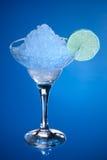 Alcool con ghiaccio Fotografia Stock
