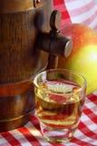 Alcool della mela Fotografie Stock