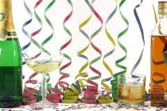 Alcool e celebrazione Immagini Stock