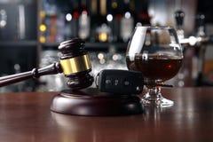 Alcool potable sur la capacité d'entraînement photos libres de droits