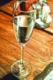 alcool Verre Champagne Photos libres de droits