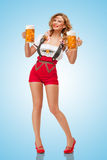 Alcoolici felici Fotografia Stock