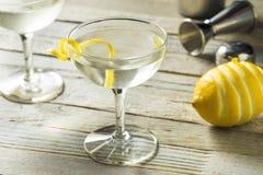 Alcoolique fait maison Vesper Martini images stock