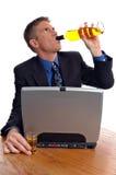 Alcoolisme image stock