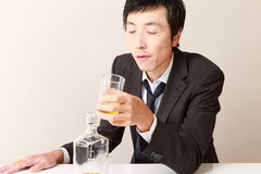 alcoolisme Photos libres de droits