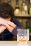 Alcoolismo Imagens de Stock