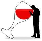alcoolizzato Immagine Stock Libera da Diritti