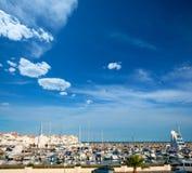Alcossebre alcoceber marina port in Castellon Spain Stock Images