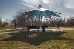 Alcova del parco della città Immagine Stock Libera da Diritti