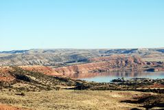 Alcova Reservoir Royalty Free Stock Images